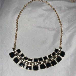 Accessories - Black and gold necklace